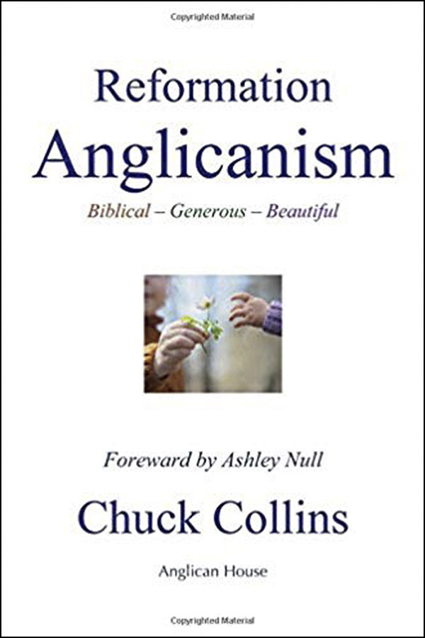 book cover of reformation anglicanism by chuck collins